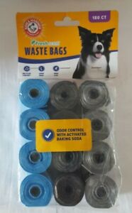 Arm & Hammer Biodegradable Pet Waste Bags - 180 Count - New - Sealed
