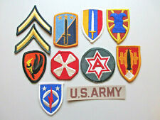 U.S Army Military Patch Lot #12 (11 Patches)