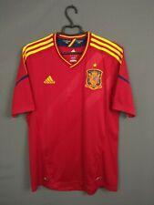 Spain Jersey 2012/13 Home LARGE Shirt Mens Camiseta Football Adidas X10937 ig93