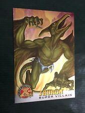 X-MEN FLEER ULTRA card nr 74  SAURON  SUPER VILLAIN  MARVEL CHROME