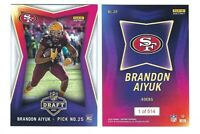2020 Panini Instant NFL Draft Night RC Brandon Aiyuk ROOKIE Card 49ers SP /514!