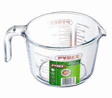 Pyrex Borosilicate Glass Measuring Jug Ovenproof Transparent Stain Resistant 1 L