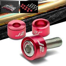 VMS RACING RED SPIKE VTEC SOLENOID COVER CNC BILLET ALUMINUM K SERIES K20 K24 2