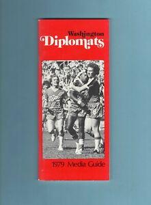 1979 NASL Washington Diplomats Media Guide