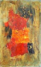 Unknown Unidentified European: Abstract Composition/ Modernism Expressionism Oil