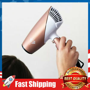 Travel Hair Dryer 1875W Dual Voltage Blow Dryer Dc Motor Foldable Negative Ionic