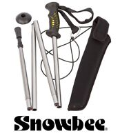 "Snowbee Prestige Folding Wading Staff #19440 Lightweight Fishing Stick 55"" Fly"
