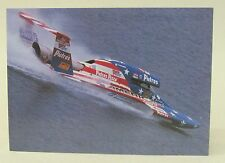 small U-50 THE AMERICAN SPIRIT hydroplane boat racing color promo print