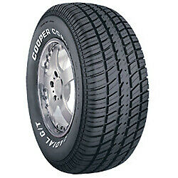 P255/60R15 102T COO COBRA RADIAL G/T RWL Tires Set of 4