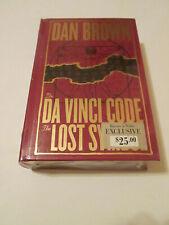 The Da Vinci Code/The Lost Symbol Hc Barnes & Noble Collectible Edition New Seal