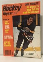 Hockey Digest  February 1977  COVER LA. Kings Dave Schultz the hammer