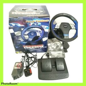 Logic3 Top Drive Force Steering Wheel and Pedals PS1 PS2 Immersion Touchscreen