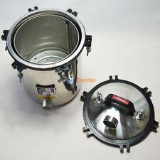 18L Portable Autoclave Sterilizer High Pressure Steam Sterilization Disinfection