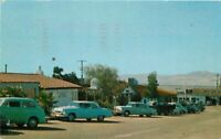 Automobiles 1956 Twenty Nine Palms California Postcard Plaza Columbia 20-3619