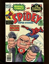 Spidey Super Stories #18 VF Romita Mortimer Kingpin Vanessa Jester Mary Jane