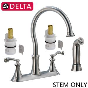 Delta RP47422,Ceramic Stem Cartridge for Two Handle Victorian Kitchen Faucet,2PC