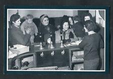 "C1990s Nostalgia Card: 1941 ""Their Billet Is An Inn"": Women and Children at Bar"