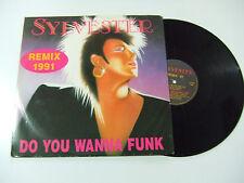 "Sylvester – Do You Wanna Funk (RMX 91)-Disco 12"" MAXI  Vinile ITALIA 1991 House"