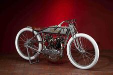 HARLEY DAVIDSON BOARD TRACK RACER  VINTAGE MOTORCYCLE  30 X 20 LARGE POSTER