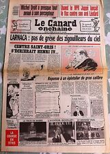Le Canard Enchainé 13/04/1988; Quand Juppé lançait le fisc contre son amie Léota