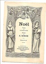 NOEL PAROLES DE DAGAND MUSIQUE DE A SIMON PROCURE MUSIQUE RELIGIEUSE ARRAS