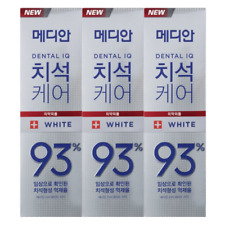 [MEDIAN] Dental IQ Tartar Care 93% Toothpaste (Removal tooth stain) 120g x 3ea