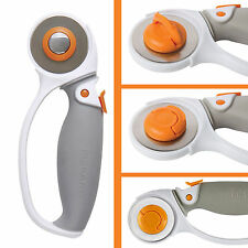 Rotary Cutter Contour Craft Tool 45mm Stainless Steel Sewing Fabric Cutting