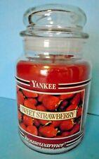 Yankee Candle 22 oz Black Label: SWEET STRAWBERRY