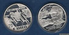 Luxembourg - 20 Euro 1997 Michel Lentz 1820-1893 - Letzebuerg