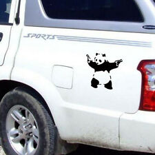 Hot Car Art Panda Car Sticker Decals Waterproofon Door Carved Car Stickers