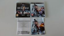 Lot Battlefield 3 + Battlefield 4 Complet sur PS3 !!!!