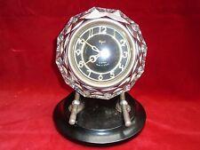 Horloge, pendule, réveil, pendule russe, pendulette Majak, USSR, bakélite