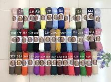Crimp Frayed Edges Maxi Scarves Hijab cotton mix Crinkle Scarves For Women