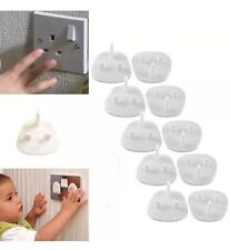 20x Safety Socket Covers Mains Electrical Plug Socket Safety Covers Child UK SLR
