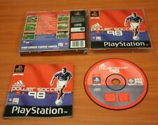 JEU SONY PS 1 ADIDAS POWER SOCCER 98  complet
