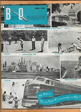 B & O MAGAZINE 1956 48 PAGES  VINTAGE