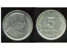 ARGENTINE 5 centavos 1951   ( bis )