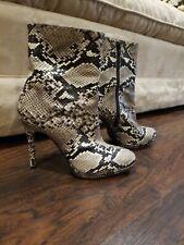 Stuart weitzman Snakeskin boots 8.5