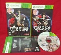 Killer is Dead - Microsoft Xbox 360 Rare Game -Tested Complete 1 Owner Clean