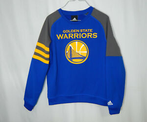 Golden State Warriors NBA Basketball ADIDAS Pullover Sweatshirt Youth Medium