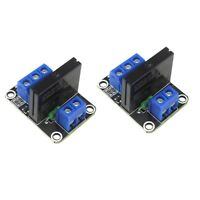 2 x 1 Channel 5V OMRON Low Level Trigger Solid State Relay Module For Arduino