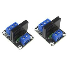 2 x 1 Channel 5V OMRON High Level Trigger Solid State Relay Module For Arduino