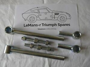 Triumph GT6 mk2 /3 rotoflex rear adjustable radius arm car set