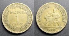 1 Franc CHAMBRES DE COMMERCE 1920