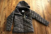 35 Sorel Pecaut Jacket Waterproof 800 fill Down Brown Womens Small Retail $850