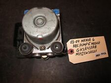 03-04 MAZDA 6 ABS PUMP & MODULE #GK2A437A0/MD9J2W3A22F *See item*