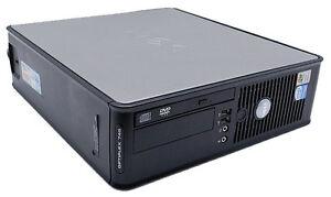 Dell OptiPlex 755 Small Form Factor, Dual Core2 2.66GHz, 4GB, 80GB, W7/10 & more