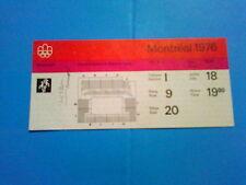 Billet Jeux Olympiques Montréal 18.07.1976 - Basketball