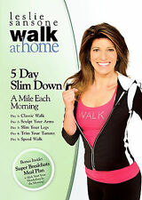 Leslie Sansone - Walk at Home - 5 Day Slim Down (DVD, 2008)