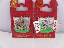 Disney * WDW * MICKEY & CINDERELLA CASTLE * New on Card Hinged Attraction Pin